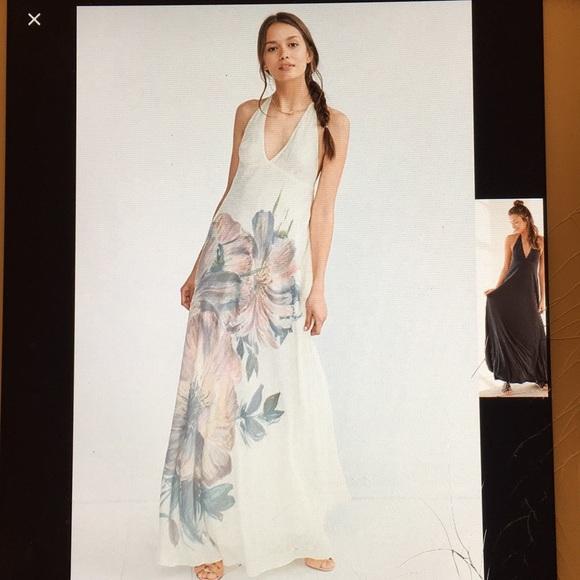 e2aa0d2d519c8 Kimchi Blue Dresses | Magnolia Halter Maxi | Poshmark